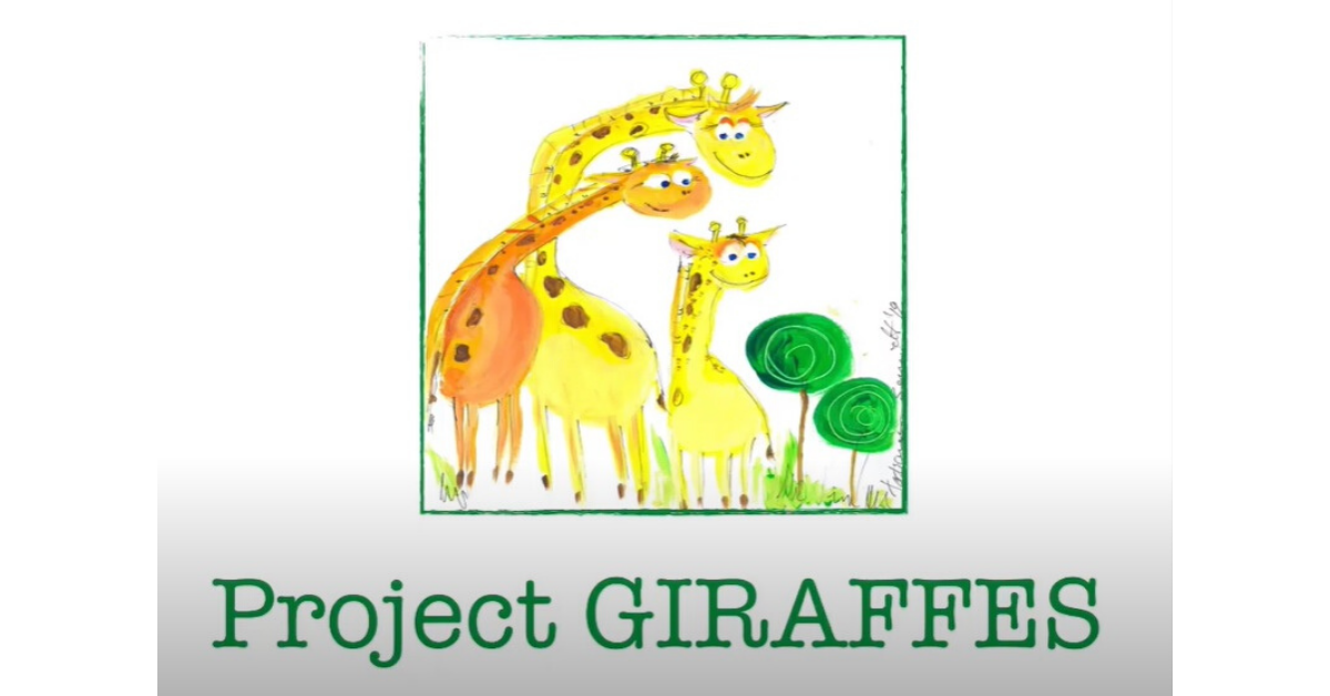 Giraffes October 2019